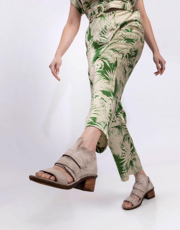 נעלי נשים - A.S. 98 - סנדל KENYA רוכסן - אפור