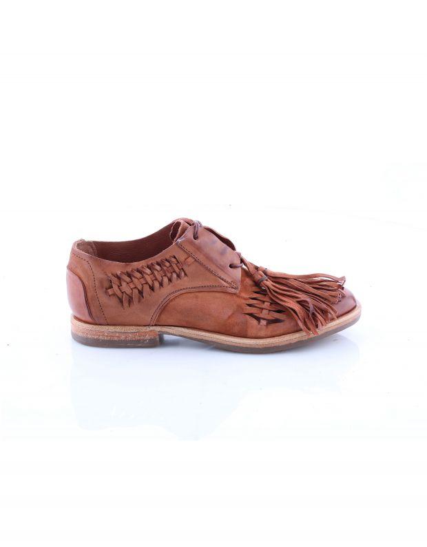 נעלי נשים - A.S. 98 - נעלי שרוכים ZEPORT - חום