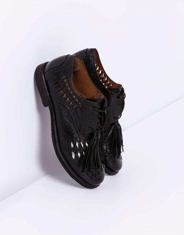 נעלי נשים - A.S. 98 - נעלי שרוכים ZEPORT - שחור