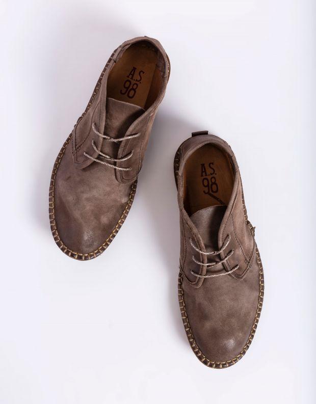 נעלי גברים - A.S. 98 - נעל BASTARD - חום כהה
