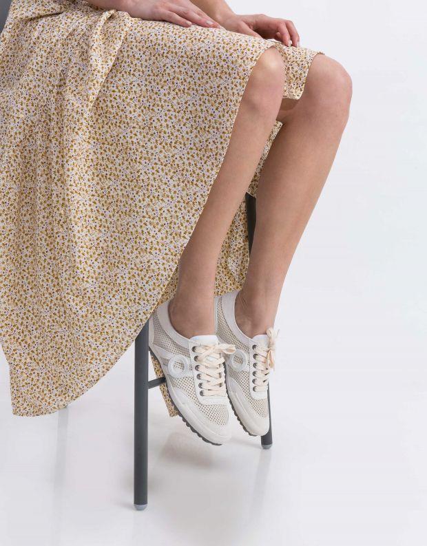 נעלי נשים - Aro - סניקרס IDO - לבן