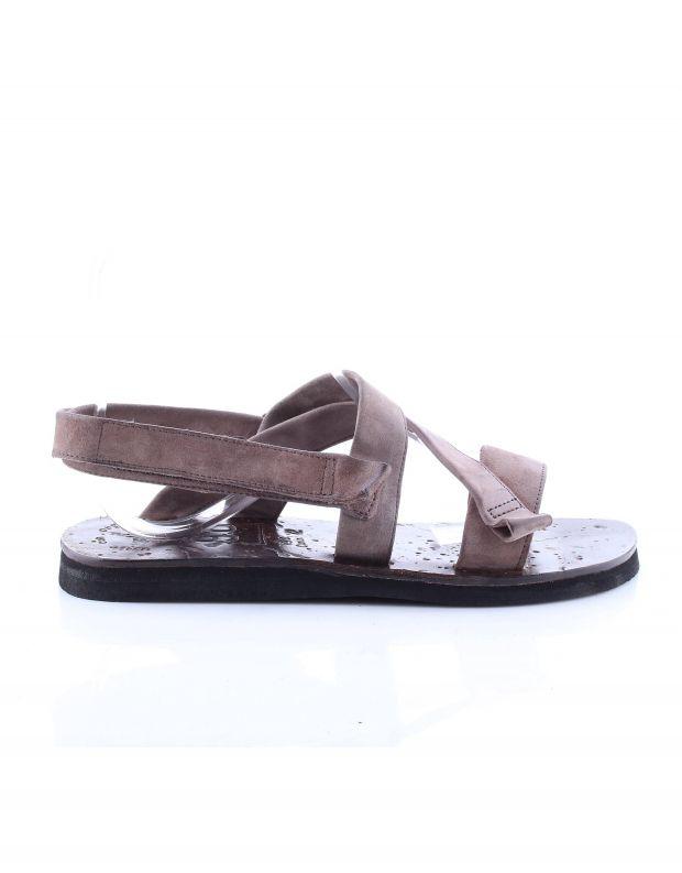 נעלי גברים - A.S. 98 - סנדלי עור SAKE - חום