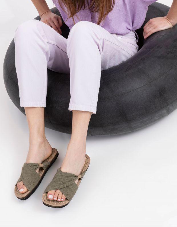 נעלי נשים - Komodo - כפכפי בד HELENA - חאקי