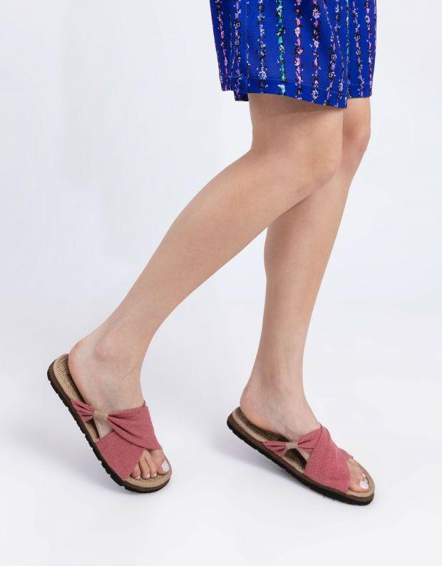 נעלי נשים - Komodo - כפכפי בד HELENA - ורוד