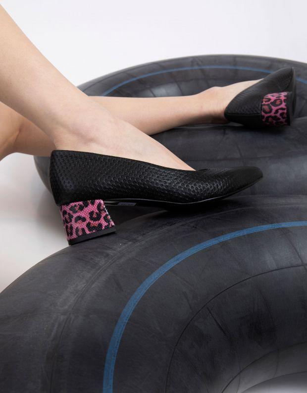 נעלי נשים - Shoemaker - נעלי סירה MIAMI - שחור