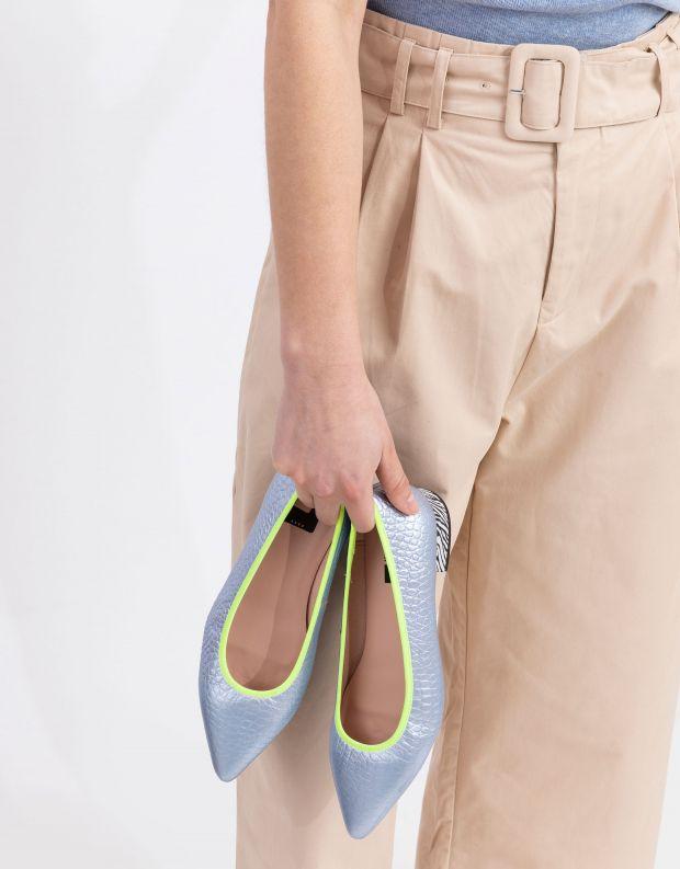 נעלי נשים - Shoemaker - סירה LA - תכלת