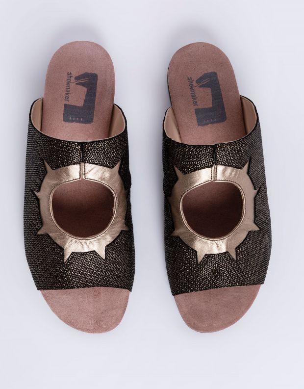 נעלי נשים - Shoemaker - כפכפים שטוחים INKA - שחור