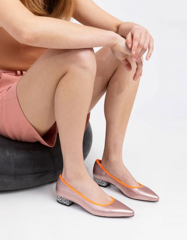 נעלי נשים - Shoemaker - סירה LA - סלמון