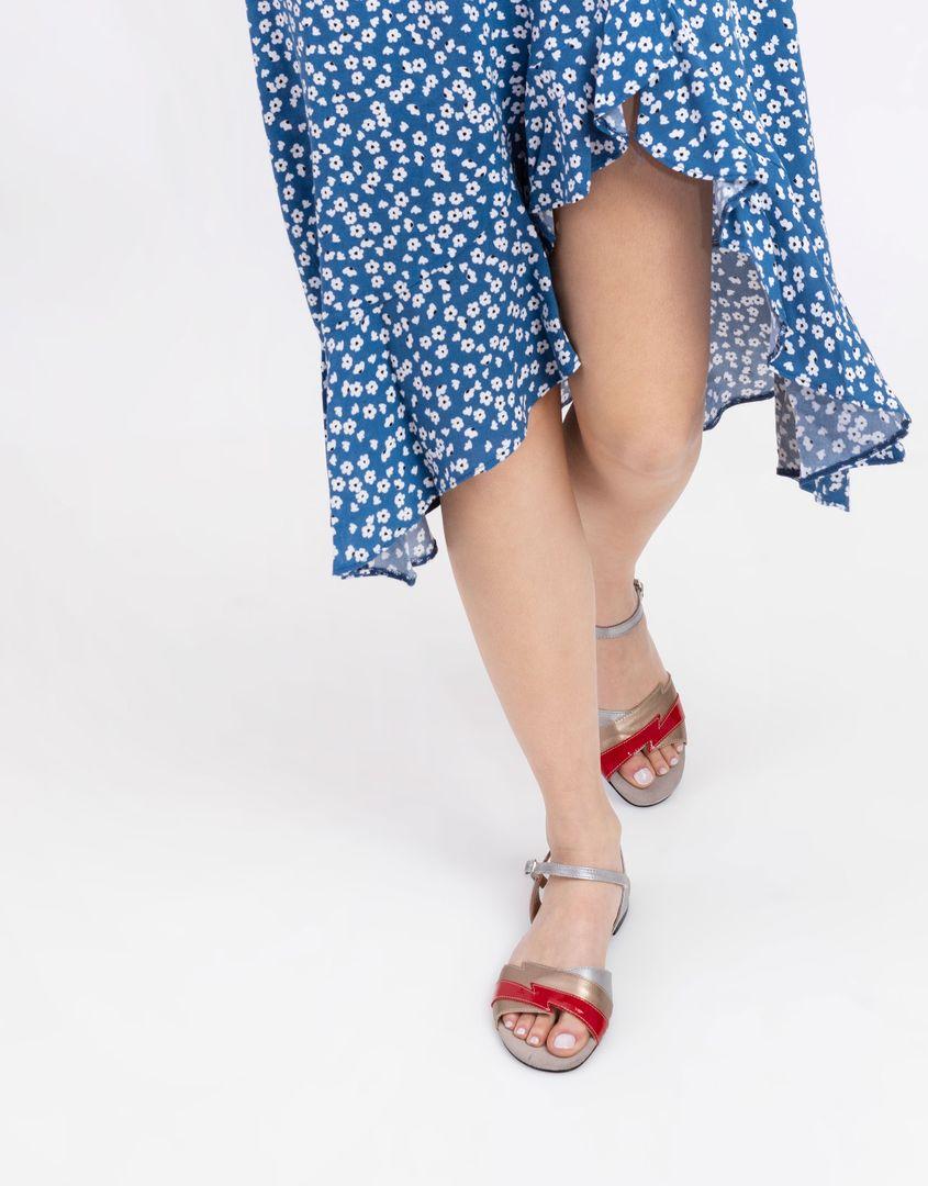 נעלי נשים - Shoemaker - סנדל TWIGGY - זהב-אדום