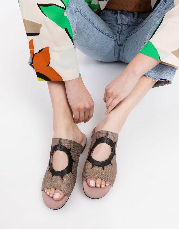 נעלי נשים - Shoemaker - כפכפים שטוחים INKA - זהב