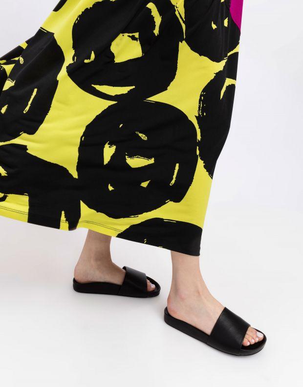 נעלי נשים - SOL SANA - כפכפים שטוחים FLO - שחור