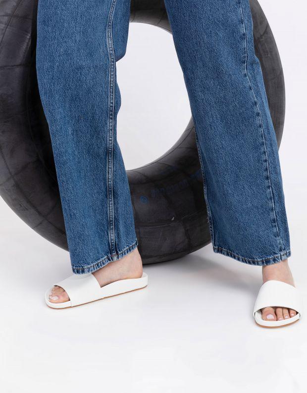 נעלי נשים - SOL SANA - כפכפים שטוחים FLO - לבן
