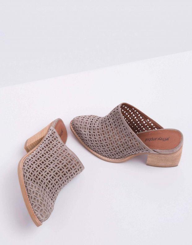 נעלי נשים - Jeffrey Campbell - קבקב FAVELA - אפור