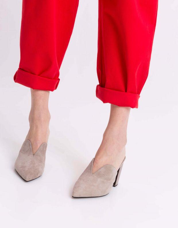 נעלי נשים - Jeffrey Campbell - קבקב COMPLETE - אפור