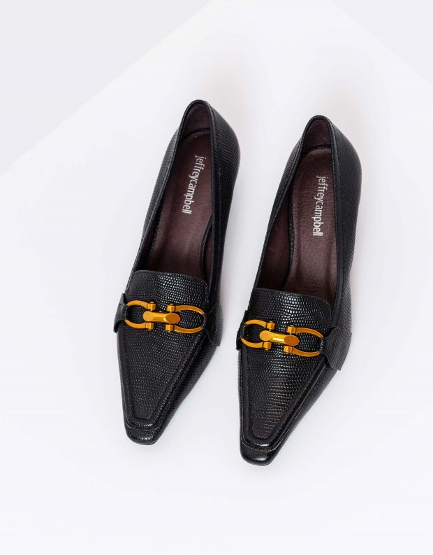 נעלי נשים - Jeffrey Campbell - נעלי סירה HYSTERIC - שחור