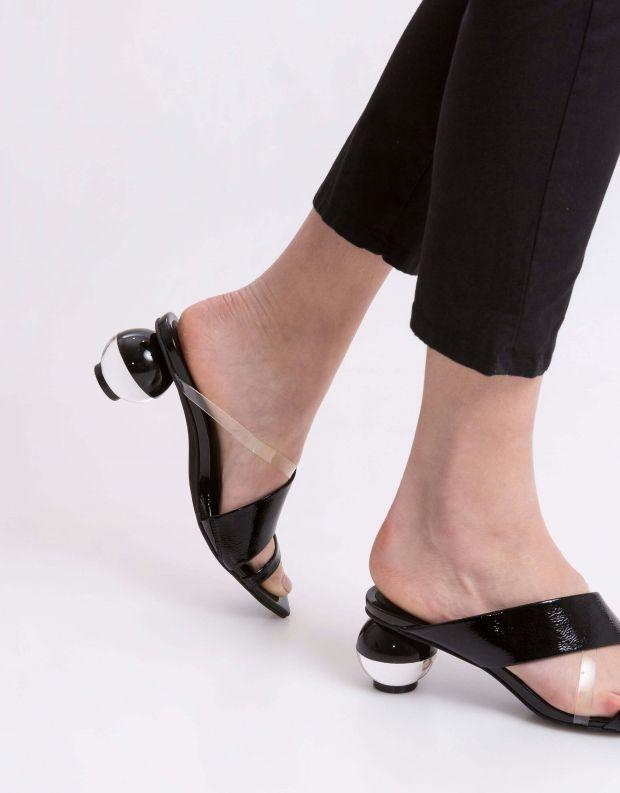 נעלי נשים - Jeffrey Campbell - קבקב LATERAL - שחור