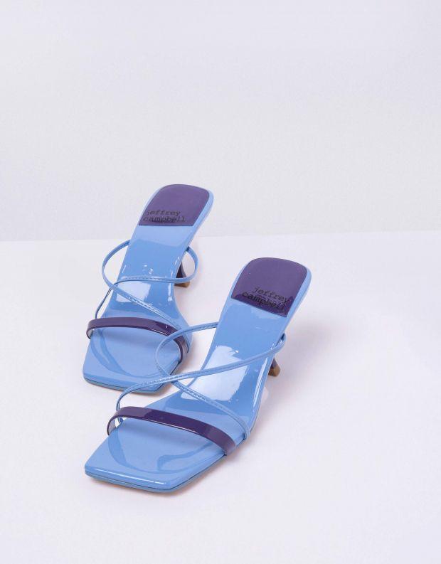 נעלי נשים - Jeffrey Campbell - קבקב MURAL - כחול
