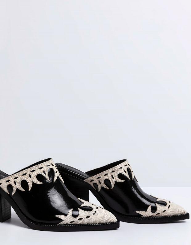 נעלי נשים - Jeffrey Campbell - כפכפי בוקרים TONTO - שחור