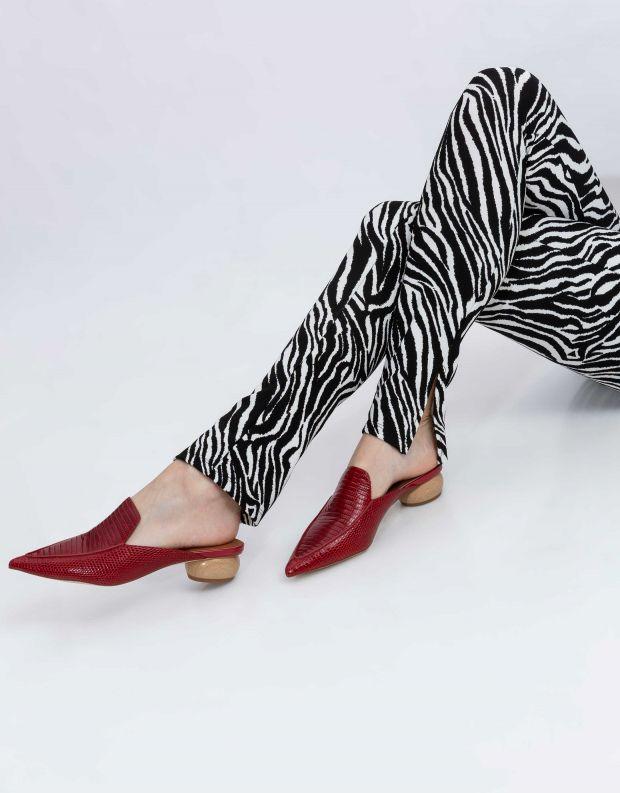 נעלי נשים - Jeffrey Campbell - קבקב VIONIT - אדום