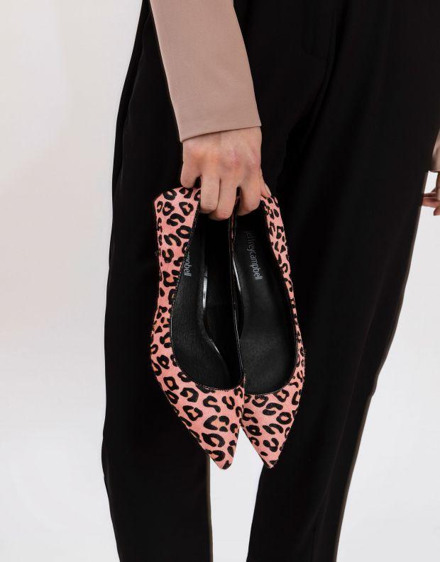 נעלי נשים - Jeffrey Campbell - נעלי סירה MARVEL - ורוד