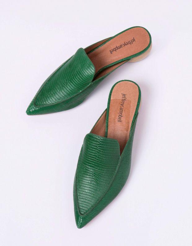 נעלי נשים - Jeffrey Campbell - קבקב VIONIT - ירוק