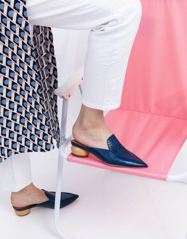 נעלי נשים - Jeffrey Campbell - קבקב VIONIT - כחול