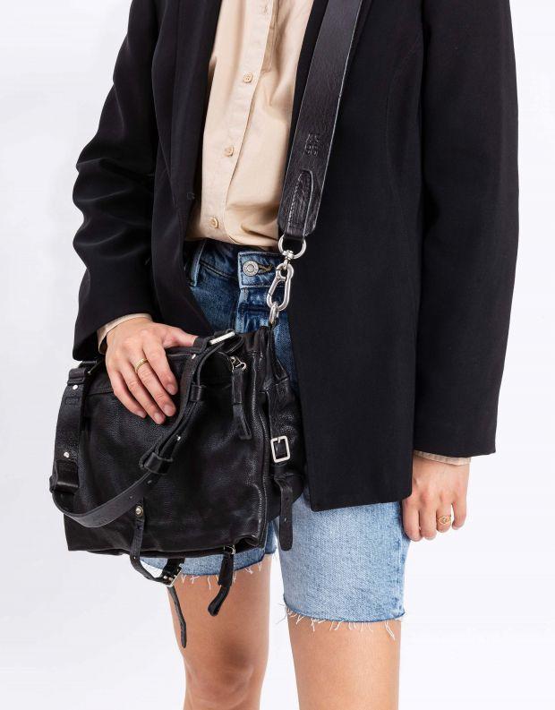נעלי נשים - A.S. 98 - תיק צד ידית חגורה - שחור