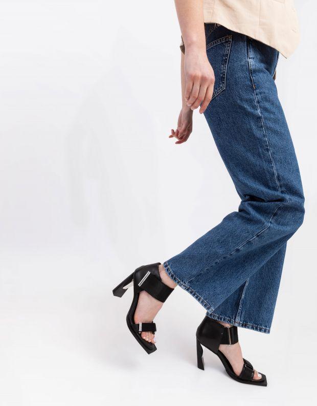נעלי נשים - United Nude - סנדלי עקב VITA HI - שחור