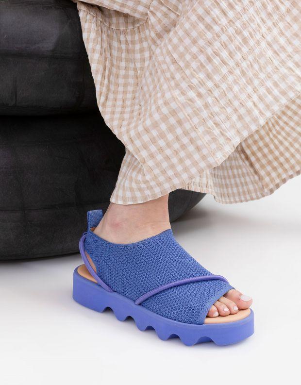 נעלי נשים - United Nude - סנדלי פלטפורמה BIND - לילך