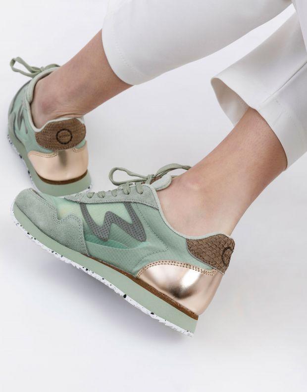 נעלי נשים - Woden - סניקרס NAJA - ירוק