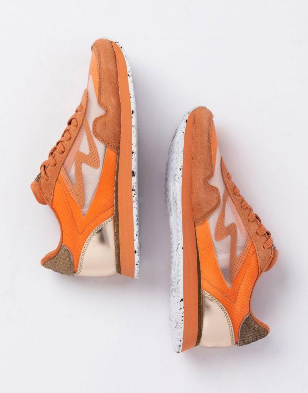 נעלי נשים - Woden - סניקרס NAJA - אפרסק
