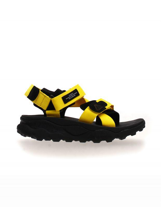 נעלי גברים - Flower Mountain - סנדלי רצועות סקוטש NAZCA - צהוב
