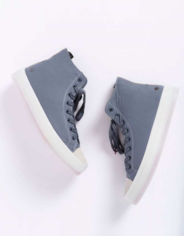 נעלי גברים - Rollie - סניקרס גבוהות RANGER - אפור