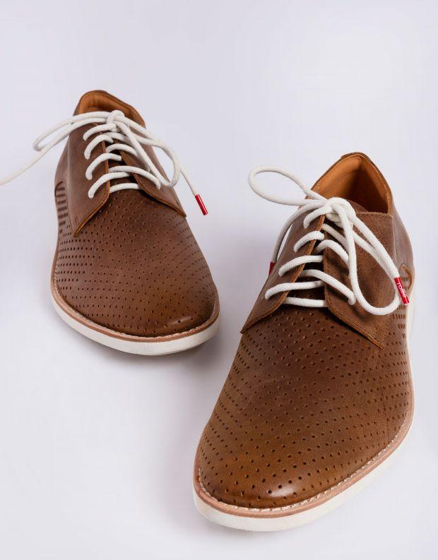 נעלי גברים - Rollie - נעלי DERBY מחוררות - חום