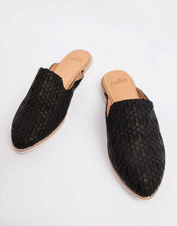 נעלי נשים - Rollie - כפכפי מיולז MADISON MULE - שחור