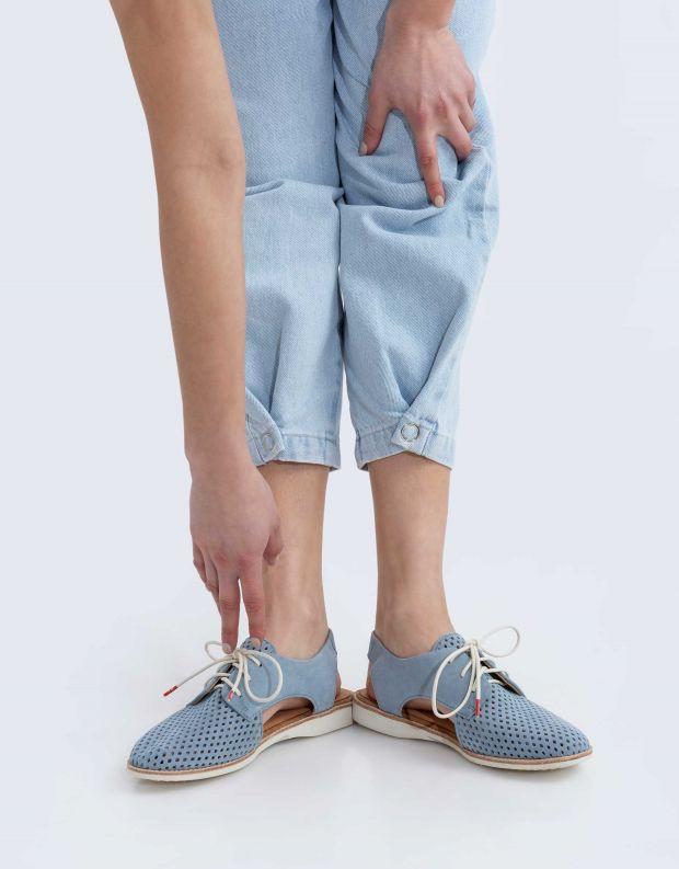 נעלי נשים - Rollie - נעל SLINGBACK PUNCH - תכלת
