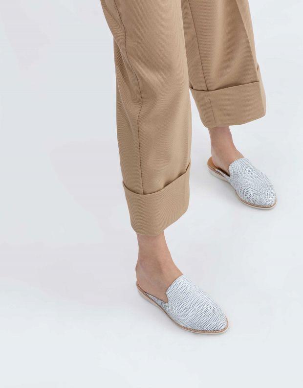 נעלי נשים - Rollie - כפכפי מיולז MADISON MULE - לבן   כחול