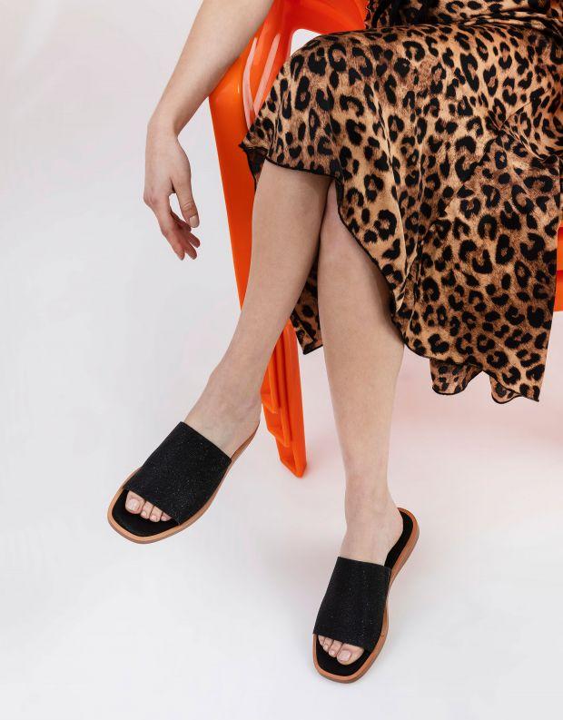 נעלי נשים - Rollie - כפכפים שטוחים ALPHA - שחור