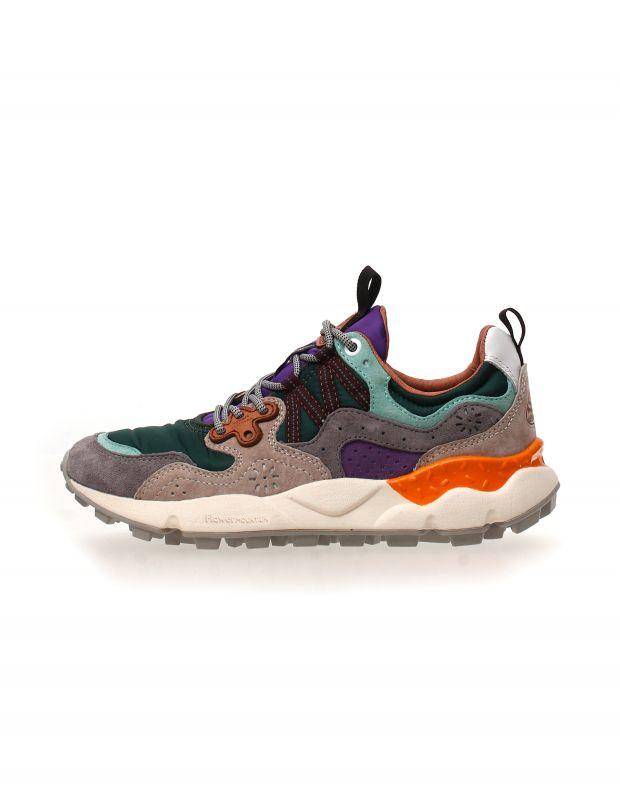 נעלי נשים - Flower Mountain - סניקרס YAMANO 3 - ירוק   אפור
