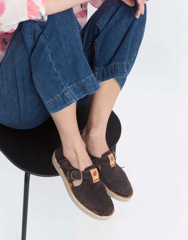 נעלי נשים - Satorisan - נעל BENIRRAS SUEDE - סגול