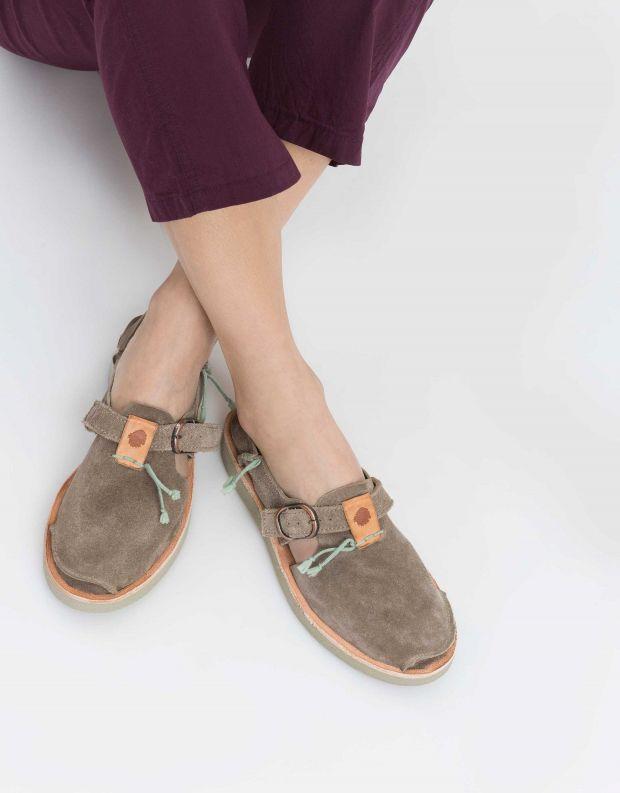 נעלי נשים - Satorisan - נעל BENIRRAS SUEDE - אבן