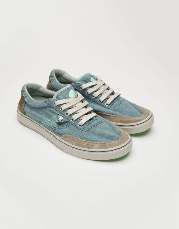 נעלי גברים - Satorisan - סניקרס בד REIWA - ג'ינס