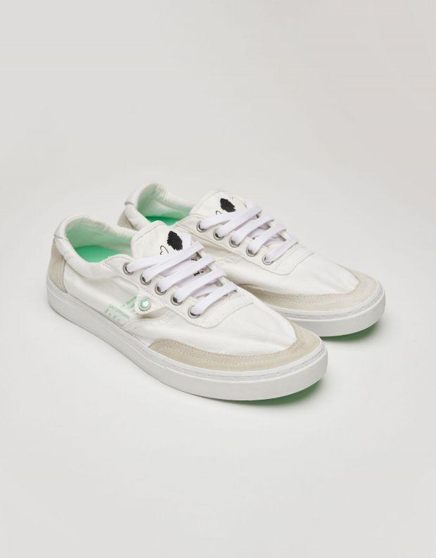 נעלי נשים - Satorisan - סניקרס בד REIWA - לבן