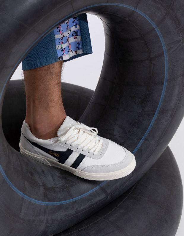 נעלי גברים - Gola - סניקרס MATCH POINT - לבן   שחור