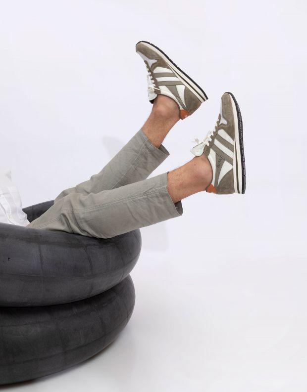 נעלי גברים - Gola - סניקרס DAYTONA - חאקי   לבן