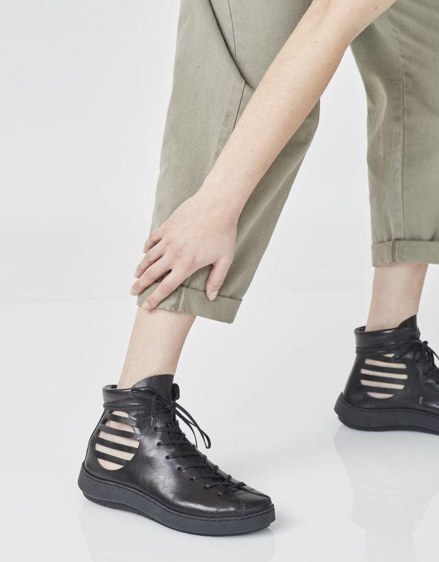 נעלי נשים - Trippen - נעליים גבוהות BLASTER SWA - שחור