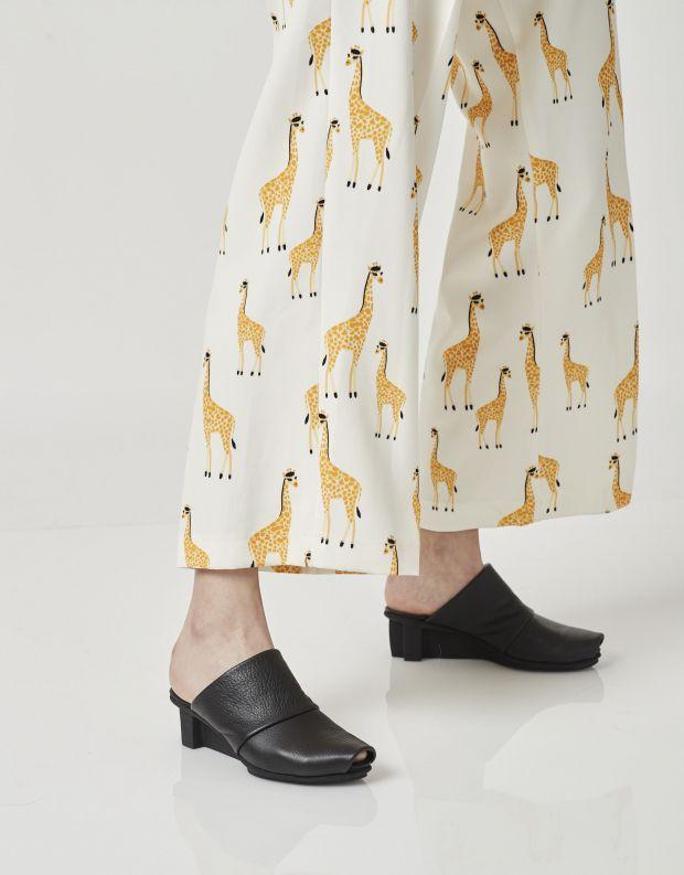 נעלי נשים - Trippen - כפכפים ENJOY XO - שחור
