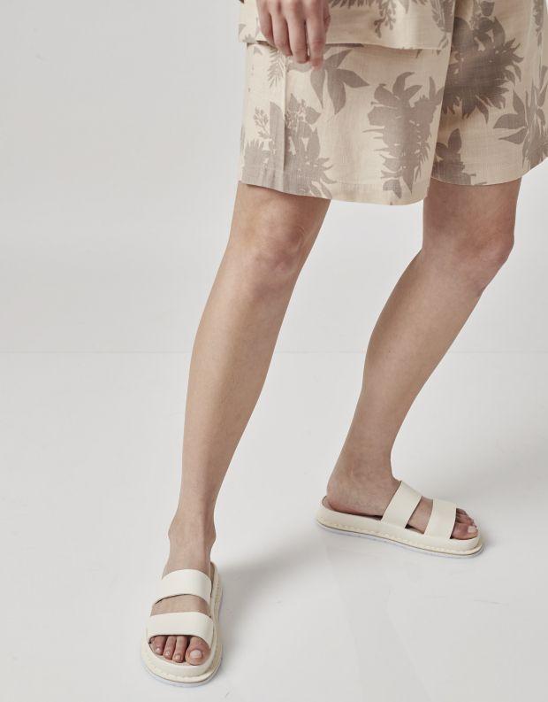 נעלי נשים - Trippen - כפכפים LEHMAN ZORI - לבן