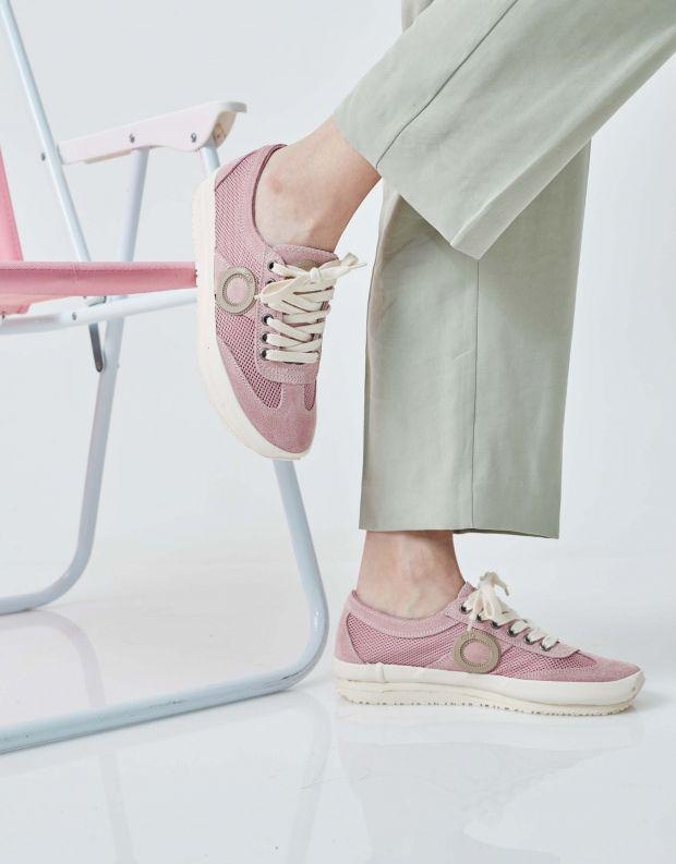 נעלי נשים - Aro - סניקרס JOANETA PLUS - ורוד