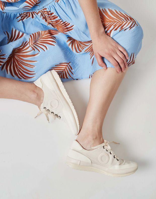 נעלי נשים - Aro - סניקרס בד JAQ - לבן